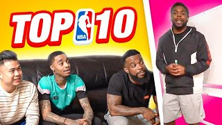 Top 10 NBA Players Ft: Flight, Cash & Kenny Chao !