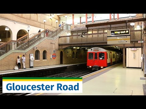 LU: Beautiful Gloucester Road station feat. D Stock