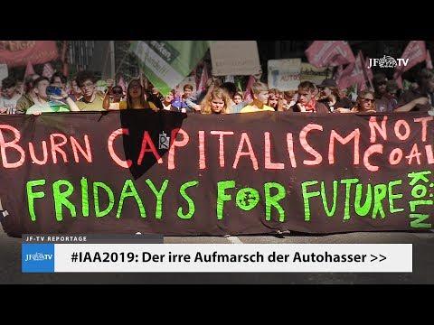 #IAA2019: Aufmarsch der Autohasser (JF-TV Reportage)