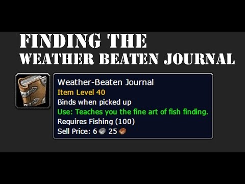 World of Warcraft - Guide - Finding the Weather-Beaten Journal - EASY METHOD