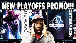 NEW MADDEN MOBILE 18 PLAYOFFS PROMO REVIEW + PACK OPENING!!!