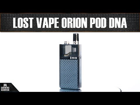 Pod systém - Lost Vape Orion DNA Go POD - Recenze (CZ)