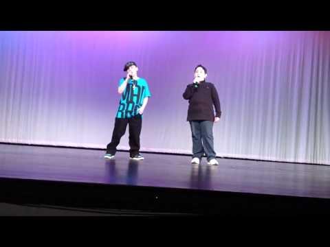 Tina Majorinos cousin Cameron Majorino and Nick Somodis talent show