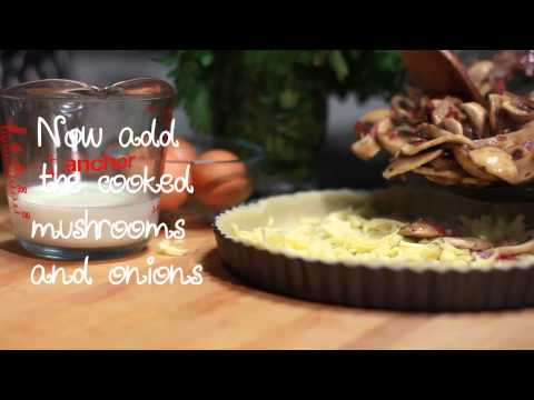 How To Make A Quiche With Mushrooms I British Classics