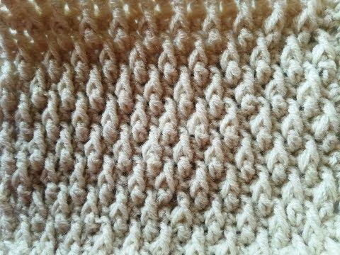 Узор крючком для свитера