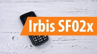 распаковка IRBIS SF02x / Unboxing IRBIS SF02x