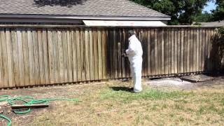 Professional Fence Treatment