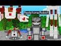 NEW REDSTONE VILLAGER UPDATE! (Minecraft PE Addon)