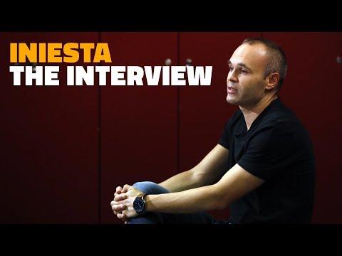 ANDRÉS INIESTA | The interview