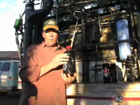 Making Black Diesel from waste motor oil (WMO)
