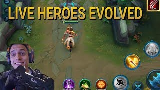 LIVE HEROES EVOLVED RANKED