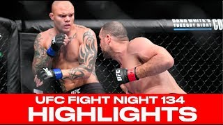 UFC Fight Night 134 Highlights! Anthony Smith Knocks Out Shogun Rua Hamburg