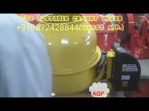 Mini mixer/small concrete mixer portable