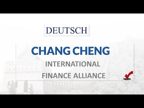 CHANG CHENG - INTERNATIONAL #FINANCE ALLIANCE. DEUTSCH