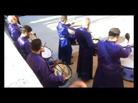 Tambores de Calanda en la inauguración de la  exposición GOYA + BUÑUEL, en el Lázaro Galdiano