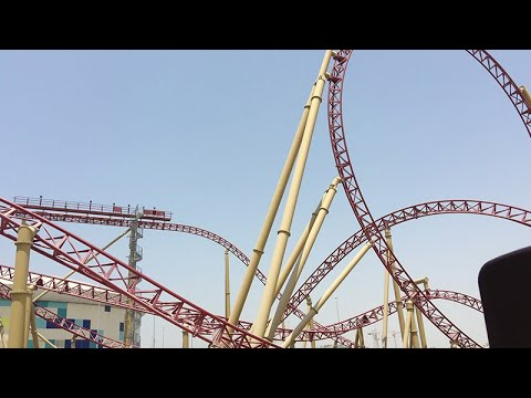 The Velociraptor  – IMG Worlds of Adventure SCARIEST ROLLER COASTER IN DUBAI