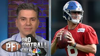 PFT Overtime: Daniel Jones boos, Josh Allen-Cole Beasley connection | Pro Football Talk | NBC Sports