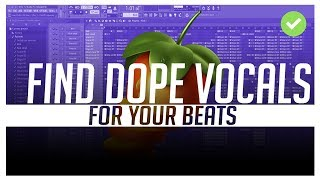 *FIRE VOCALS* Making a beat with vocal samples | (making a beat fl studio)
