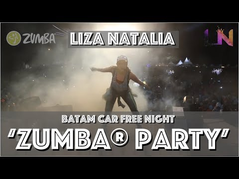 Liza Natalia | Batam Car Free Night | ZUMBA® | Warm Up | BP Batam & Grand i Hotel |