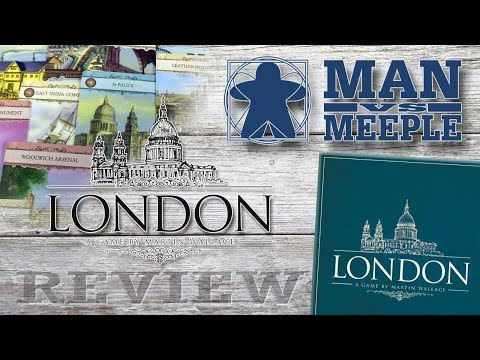 London (Osprey Games) Review by Man Vs Meeple