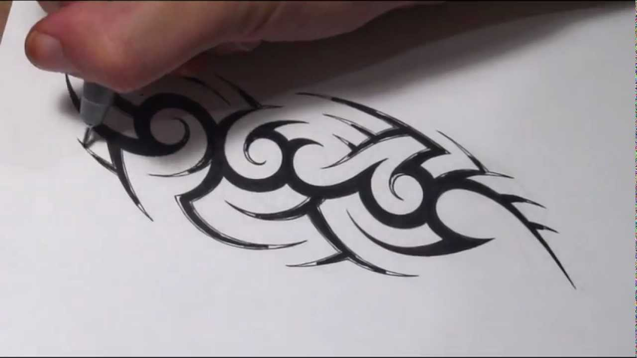 Tribal Name Tattoo Design: How To Create A Hidden Tribal Name Tattoo Design