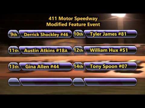 411 Motor Speedway   Modifieds   Sept 7 , 2013