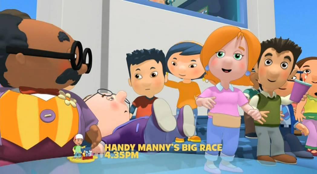 Handy Manny Race Car