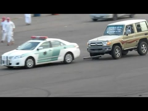 Drifting in front of police | Saudi...
