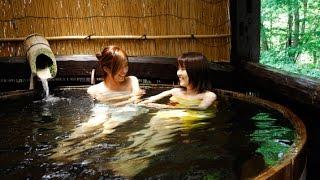How bath in sento together. Japan