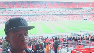 GOING TO THE FA CUP SEMI-FINAL! | TBJZL Vlog