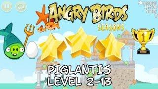 Angry Birds Seasons Piglantis 2-13