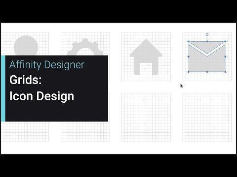 Grids: Icon Design (Affinity Designer)