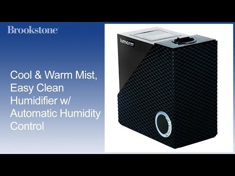 Cool & Warm Mist, Easy Clean Humidifier w/ Automatic Humidity Control