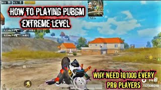 Why Need Iq1000 Every PUBGm Pro Players  [Best Pubg Mobile Player  Insane 1v4 Clutch