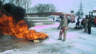Огневые испытания 17 февраля 2012 года(17 февраля 2012 года состоялись огневые испытания огнетушащих порошков, применяемых в производстве порошковы..., 2012-02-24T14:41:49.000Z)