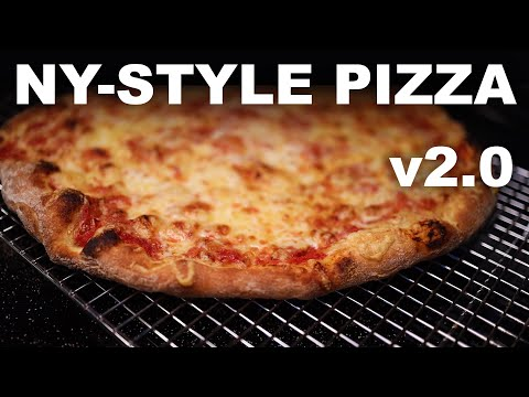 New York-style pizza at home, v2.0