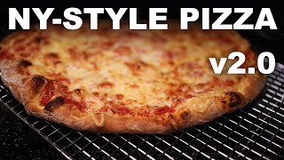 New Yorkstyle pizza at home, v2.0