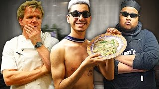 One of Loai's most viewed videos: HOW TO COOK!! ft Chef Chunkz & Gordon Ramsay