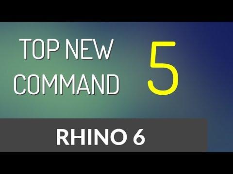 Top New 5 Command In Rhino 6 🔥🔥🔥🔥 [HINDI]
