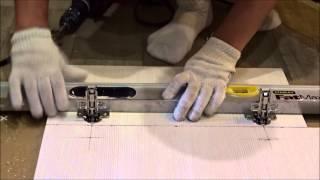 Установка петель при сборке мебели видео 3
