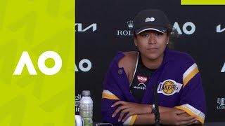 "Naomi Osaka: ""I'm playing with a different purpose"" press conference (SF) 