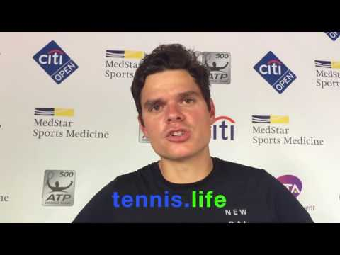 Milos Raonic - post match