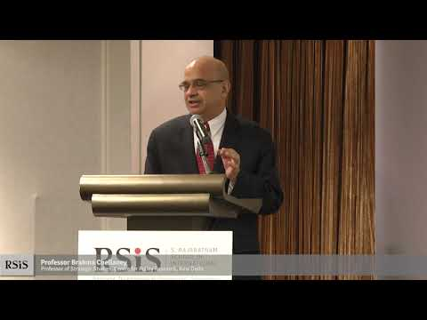 The S T  Lee Distinguished Annual Lecture by Professor Brahma Chellaney 30 Oct 2018