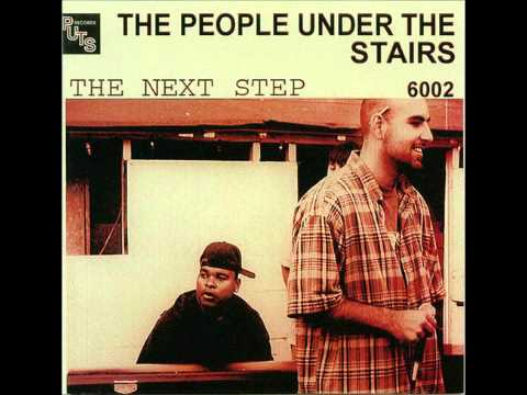 People under the stairs - San Francisco Knights (HQ)