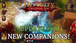Divinity: Original Sin - Update #64: New Companions!
