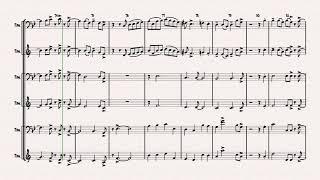 Autumn Leaves - Jazz Classic - Les feuilles mortes - Trombone Trio