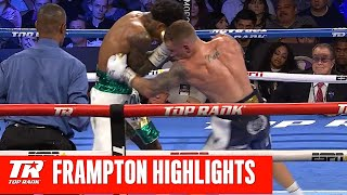 Carl Frampton Drops McCreary Twice on Way to Victory | Fight Highlights