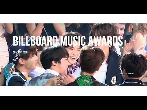 180520 BTS Wins Top Social Artist @ 2018 Billboard Music Awards JIMIN Focus