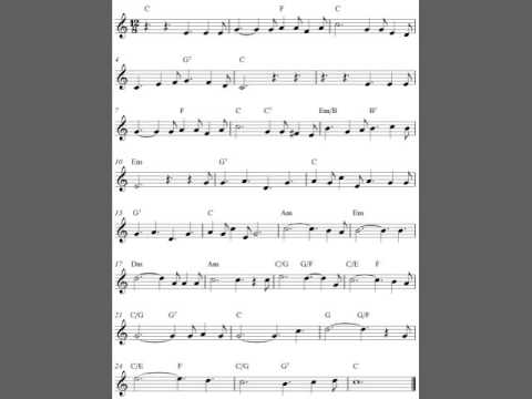 Free Christmas violin sheet music, O Holy Night