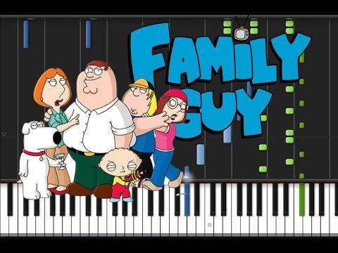 Family Guy - Main Theme [Piano Tutorial] (♫)